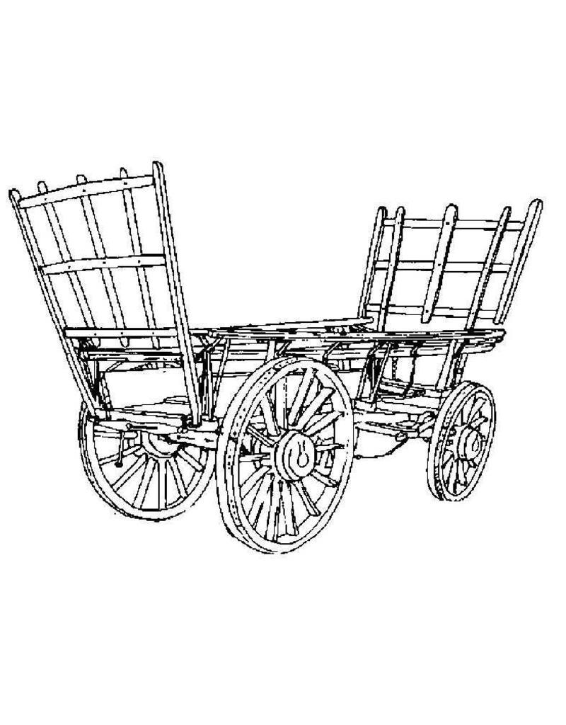 NVM 40.31.013 hop transport wagen