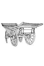 NVM 40.31.019 Hereford boerenwagen