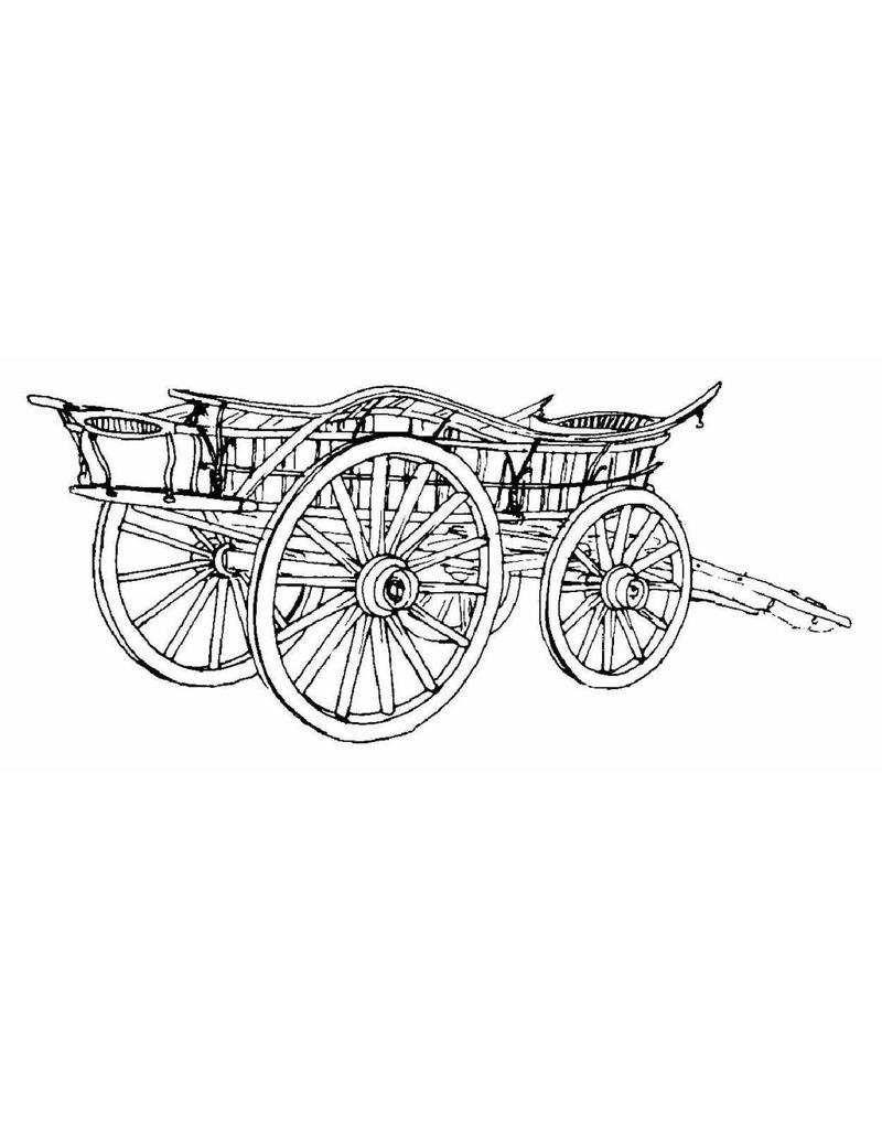 NVM 40.31.022 Glamorgan boerenwagen