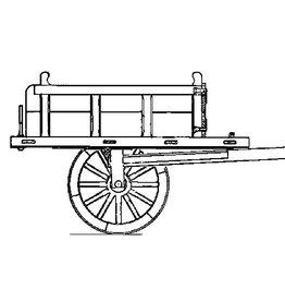 NVM 40.31.052 driewielige stortkar