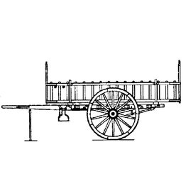 NVM 40.31.096 Limburgse ladderwagen