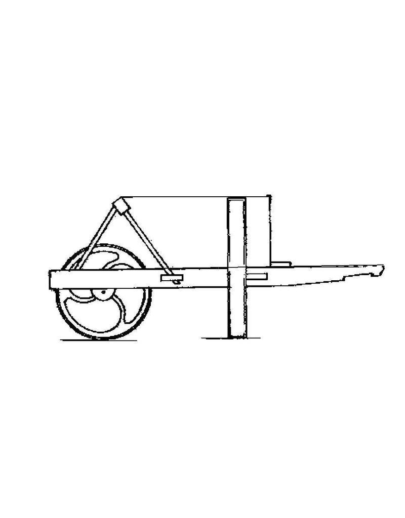 NVM 40.32.019 pionier kruiwagen Koninklijk Nederlandsch Indische Leger 1915