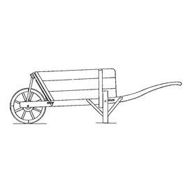 NVM 40.32.048 Gelders-Overijssels type kruiwagen