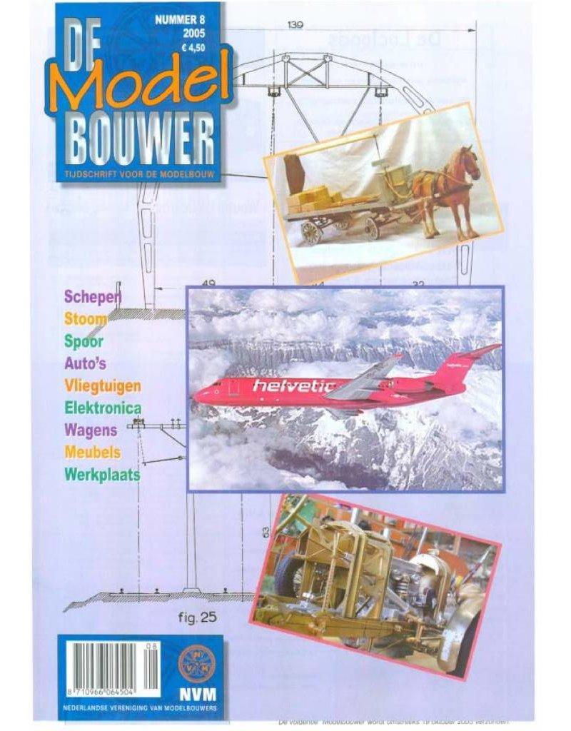 """NVM 95.05.008 Jaargang """"De Modelbouwer"""" Editie : 05.008 (PDF)"""