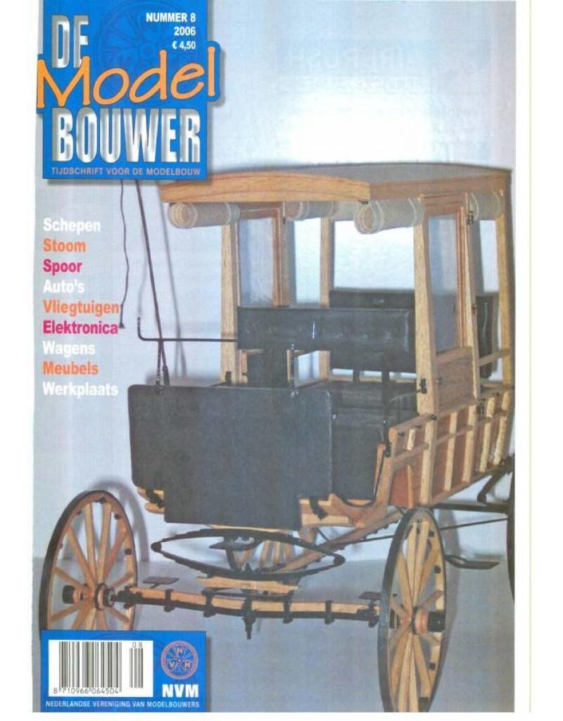 """NVM 95.06.008 Jaargang """"De Modelbouwer"""" Editie : 06.008 (PDF)"""