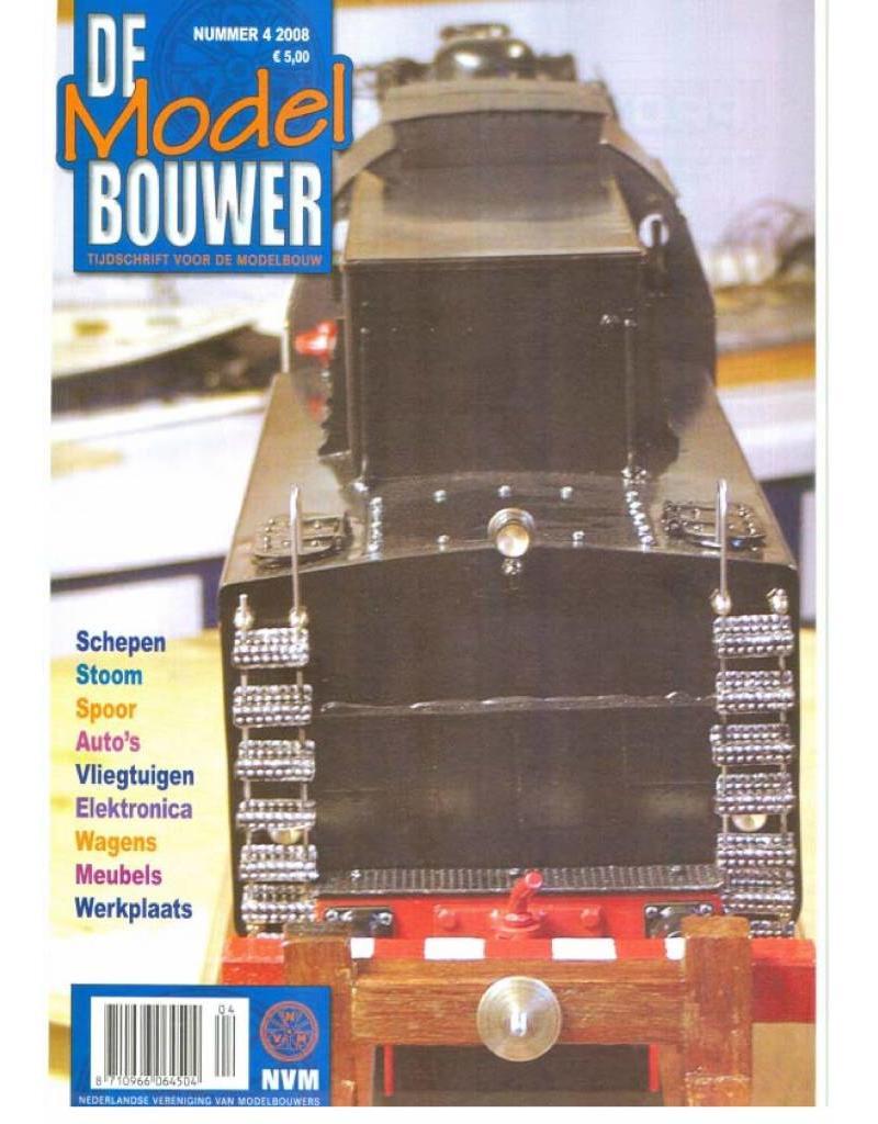 """NVM 95.08.004 Jaargang """"De Modelbouwer"""" Editie : 08.004 (PDF)"""