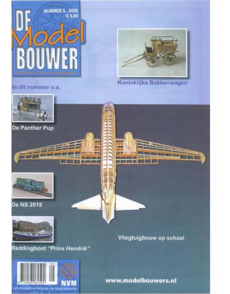 """NVM 95.09.005 Jaargang """"De Modelbouwer"""" Editie : 09.005 (PDF)"""