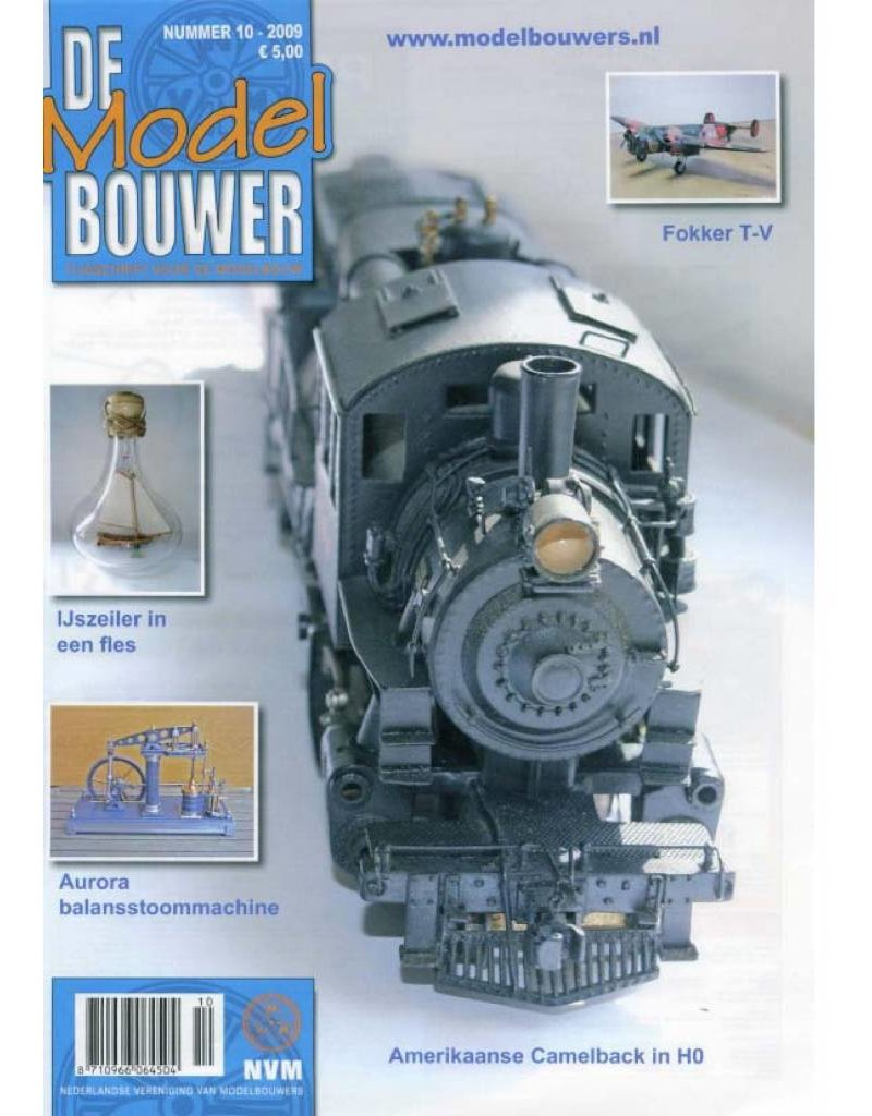 """NVM 95.09.010 Jaargang """"De Modelbouwer"""" Editie : 09.010 (PDF)"""