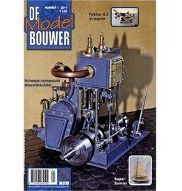 """NVM 95.11.001 Jaargang """"De Modelbouwer"""" Editie : 11.001 (PDF)"""
