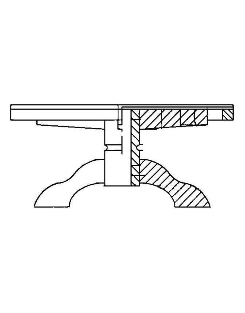 NVM 40.33.018 salontafel (blank)eiken