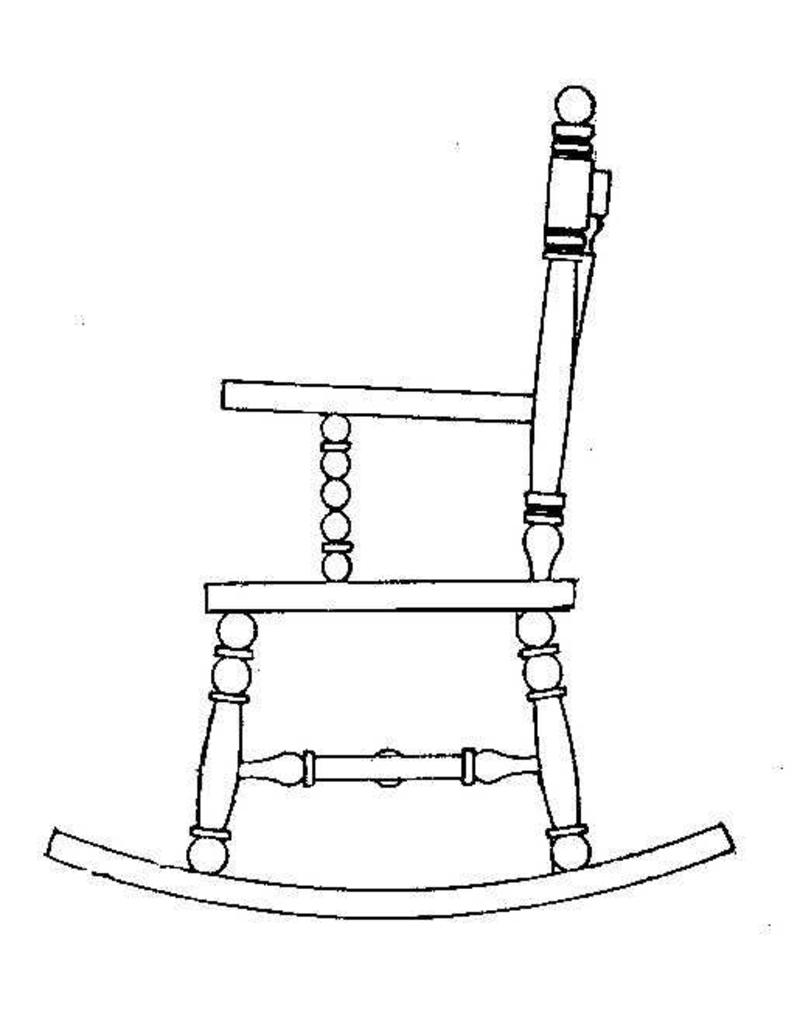 NVM 40.33.024 schommelstoel