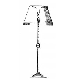 NVM 40.33.026 staande lamp (1934)