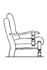 """NVM 40.33.042 fauteuil, naar """"Oisterwijk"""""""
