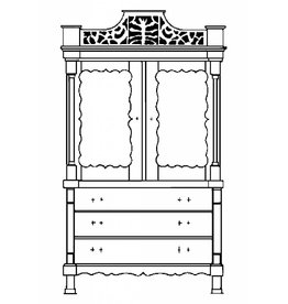 NVM 40.34.011 recht kabinet, (ca 1895)