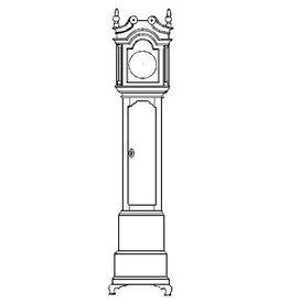 NVM 40.34.013 staand horloge