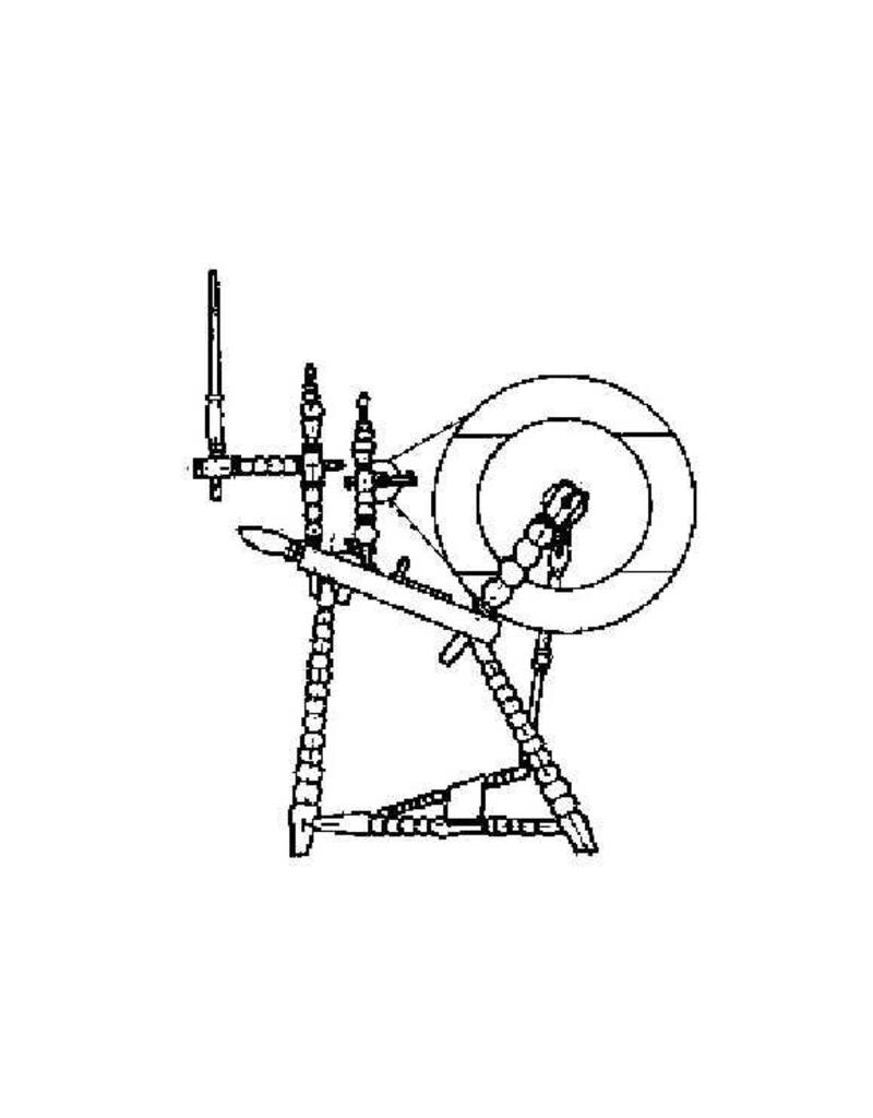 NVM 40.35.006 Hindeloper spinnewiel