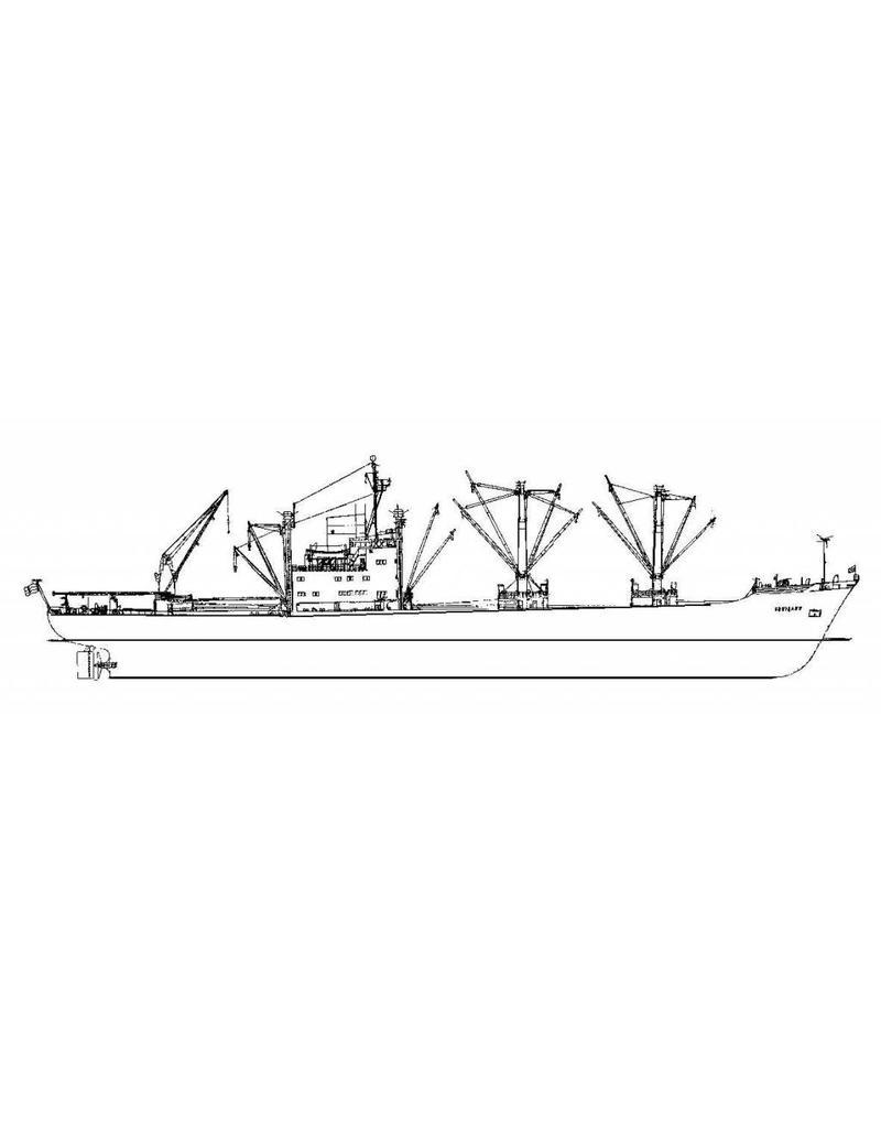 "NVM 16.10.034 vrachtschip ms ""Gooiland"" (1969) - KHL"