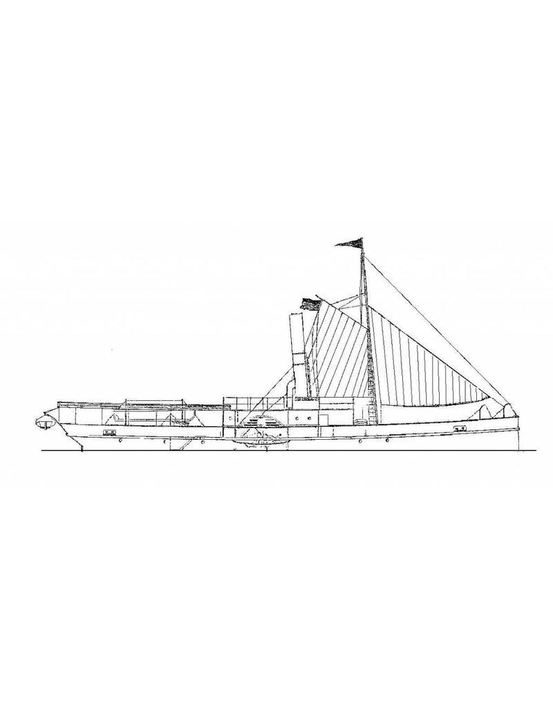 "NVM 16.11.005 ZrMs opnemingsvaartuigvaartuig ss ""Buyskes"" (1888)"