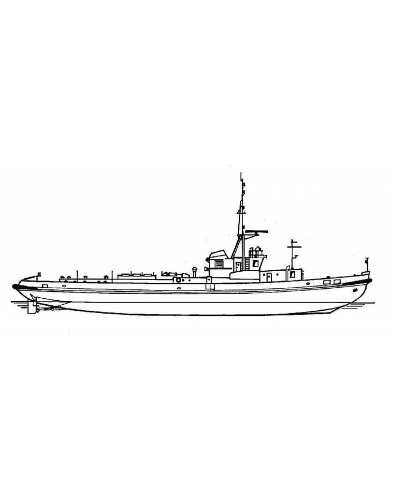 NVM 16.11.045 marinesleepboot ex DDR (1977)
