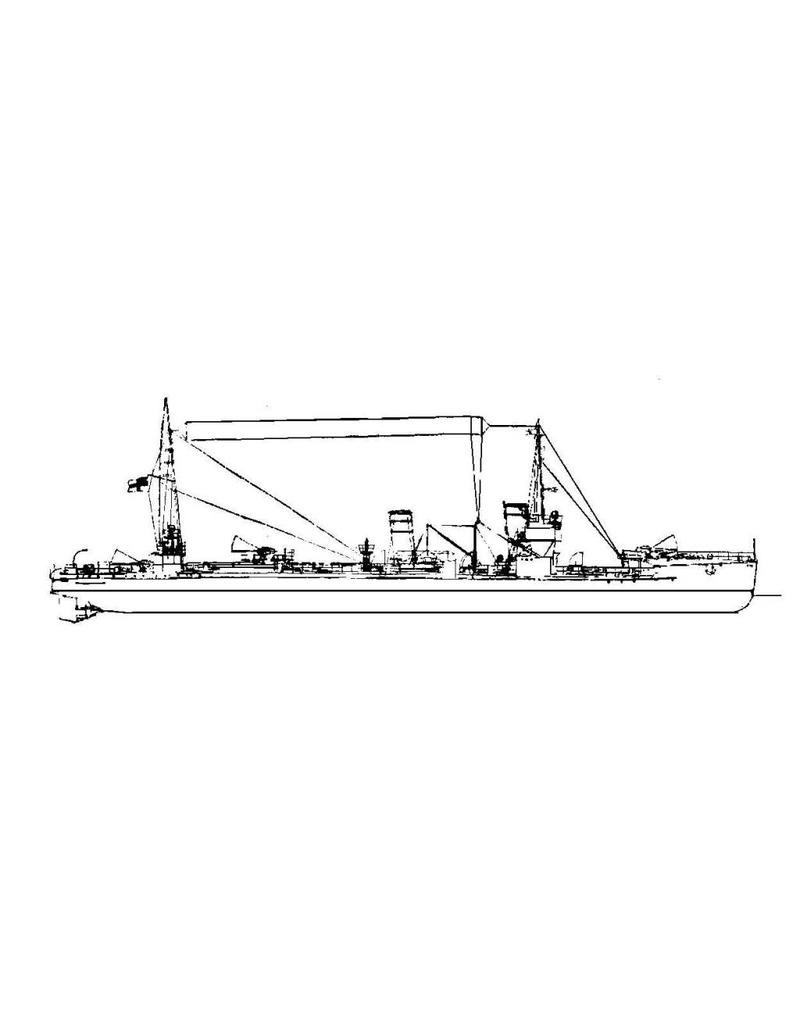 NVM 16.11.076 stoomtorpedoboot S.M. V97 (1915) - (Kriegsmarine)