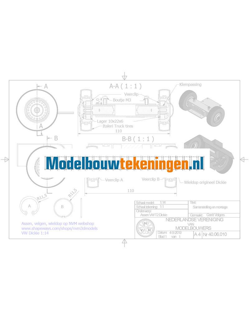 NVM 40.06.010 Assen voor VW T2 Dickie