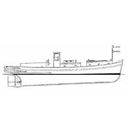 "NVM 16.14.019 motorsleepboot voor Stadsreininging Amsterdam van 14 m. ( ""Amsterdammertje"") (1959)"