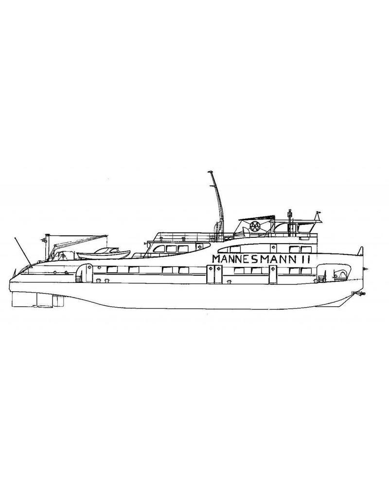 NVM 16.14.037 Duwboot ms Mannesmann I en II (1962/1965) - Mannesmann