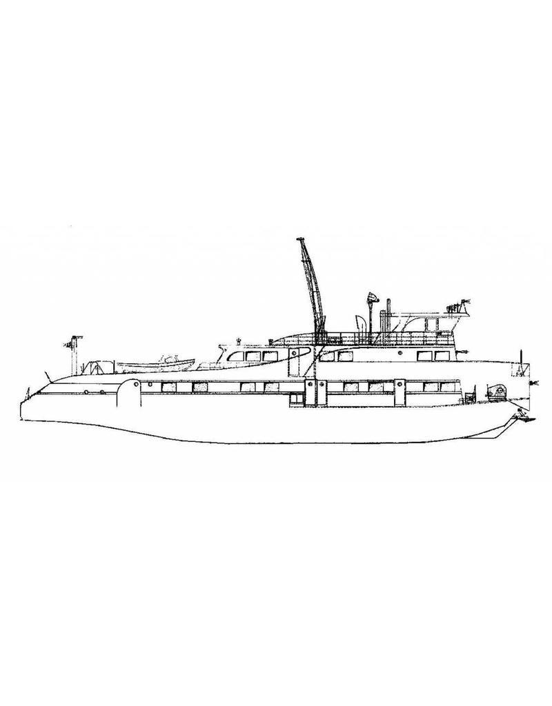 NVM 16.14.038 duwboot Jacob van Heemskerk (1961) - Nederl. Rijnvaart Vereniging
