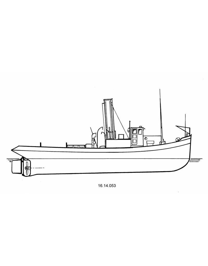 NVM 16.14.053 rivierslpb ss Frans (1930) - F. Heijlaerts, Dordrecht