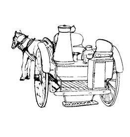 NVM 40.38.001 Engelse melkbezorgkar