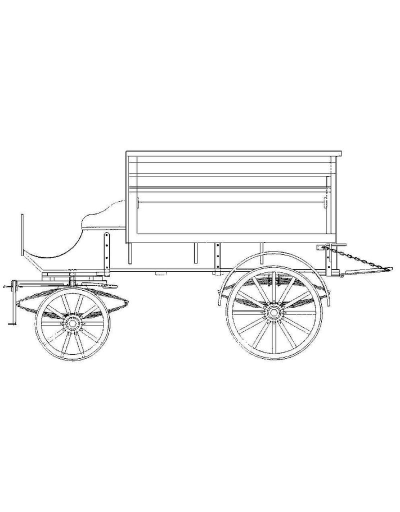 NVM 40.38.028 kleine groentenwagen