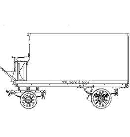 """NVM 40.38.041 bedrijfswagen """"van Gend en Loos"""""""