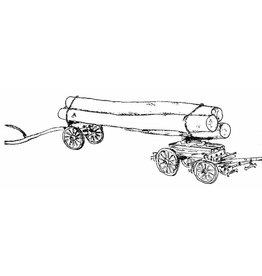 NVM 40.38.051 dubbelgestuurde bomenwagen uit Oostenrijk