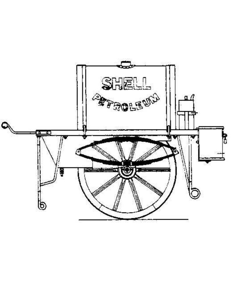 """NVM 40.39.045 petroleum handkar """"Shell"""""""