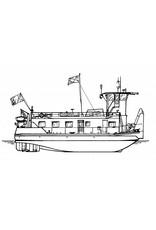 NVM 16.14.058 duwboot ms Thionville (1963) - Comp. Francaise Navigation Rhenane - 1988 Saarlouis