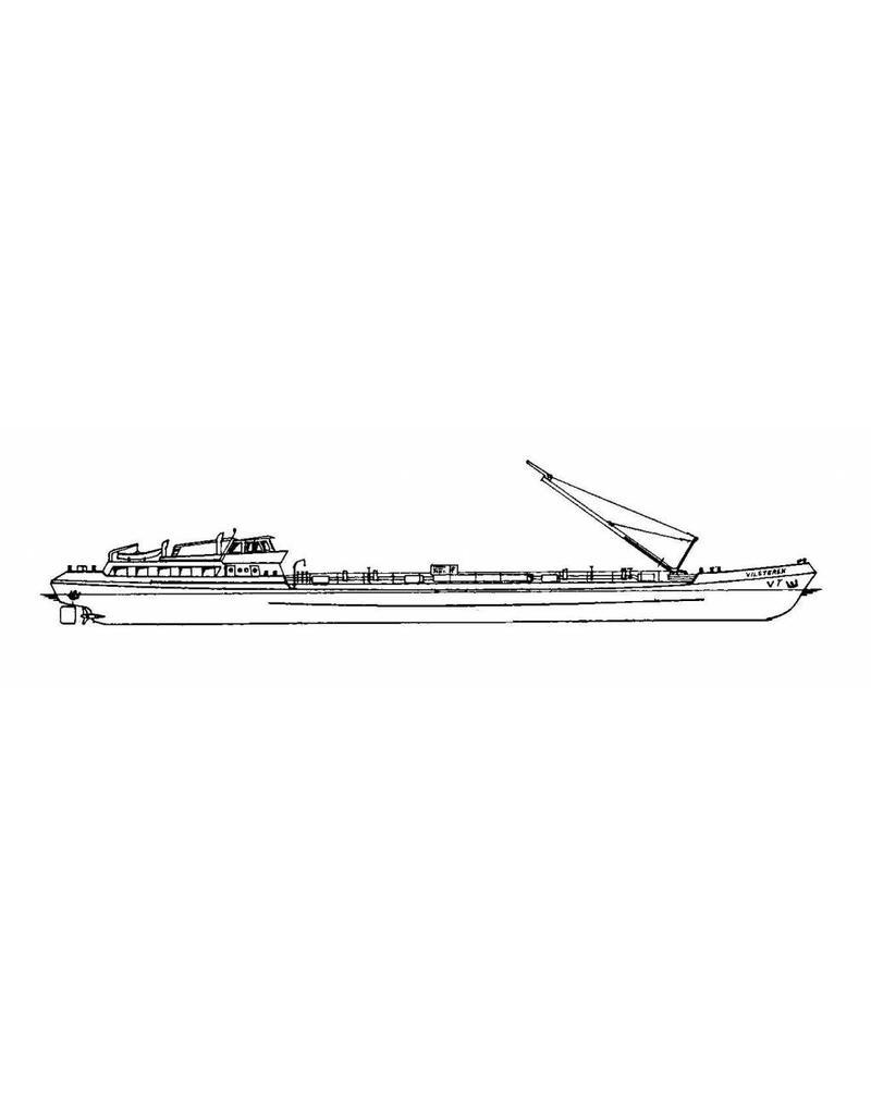 "NVM 16.15.002 binnenvaarttanker ms ""Vilsteren"" (1967) - Verenigde Tankrederij"