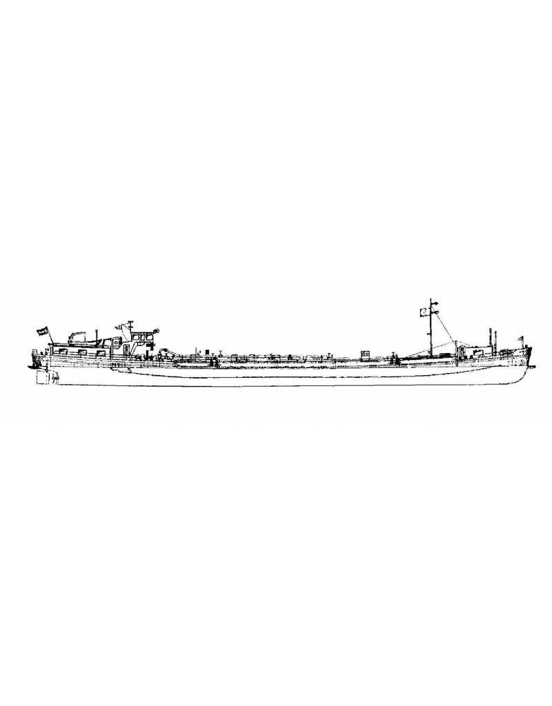"""NVM 16.15.003 binnenvaarttanker ms """"Icarus"""" (1956)"""