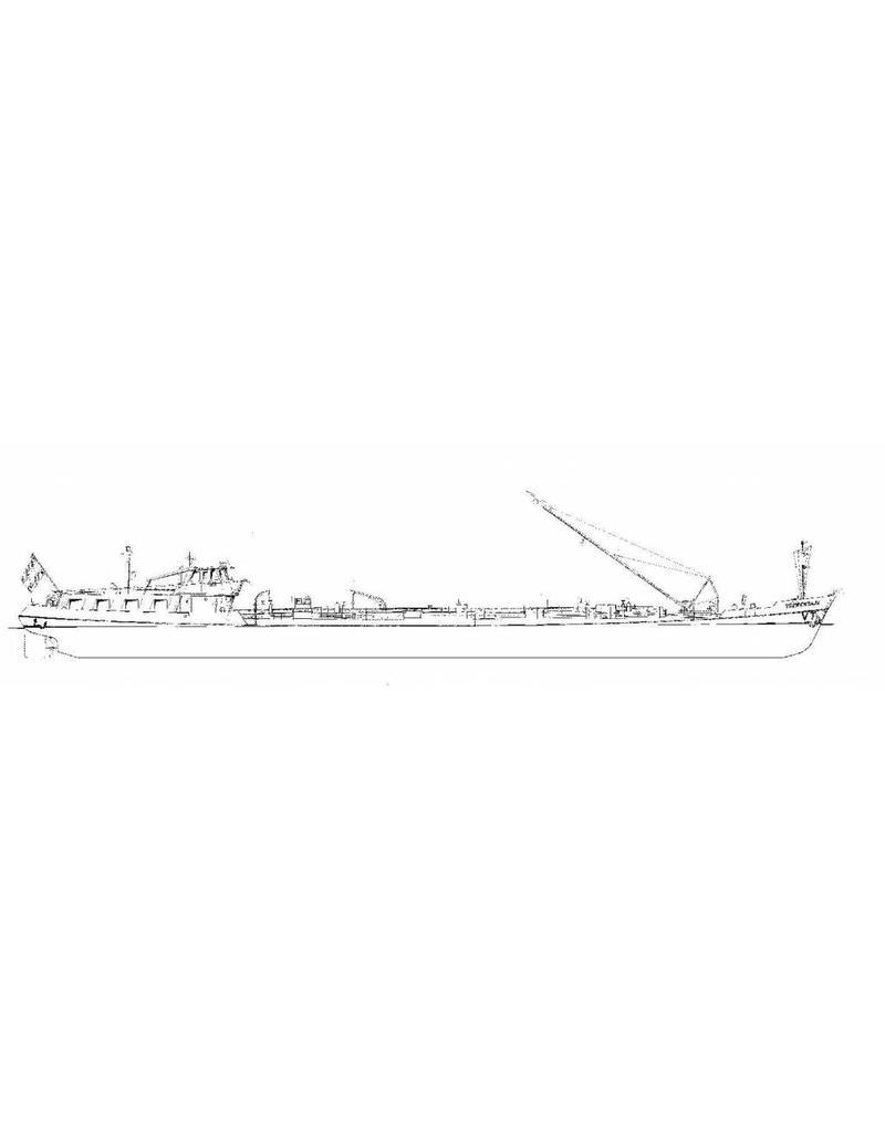 NVM 16.15.035 tankschip ms Voerendaal 980 ton (1963) - VT