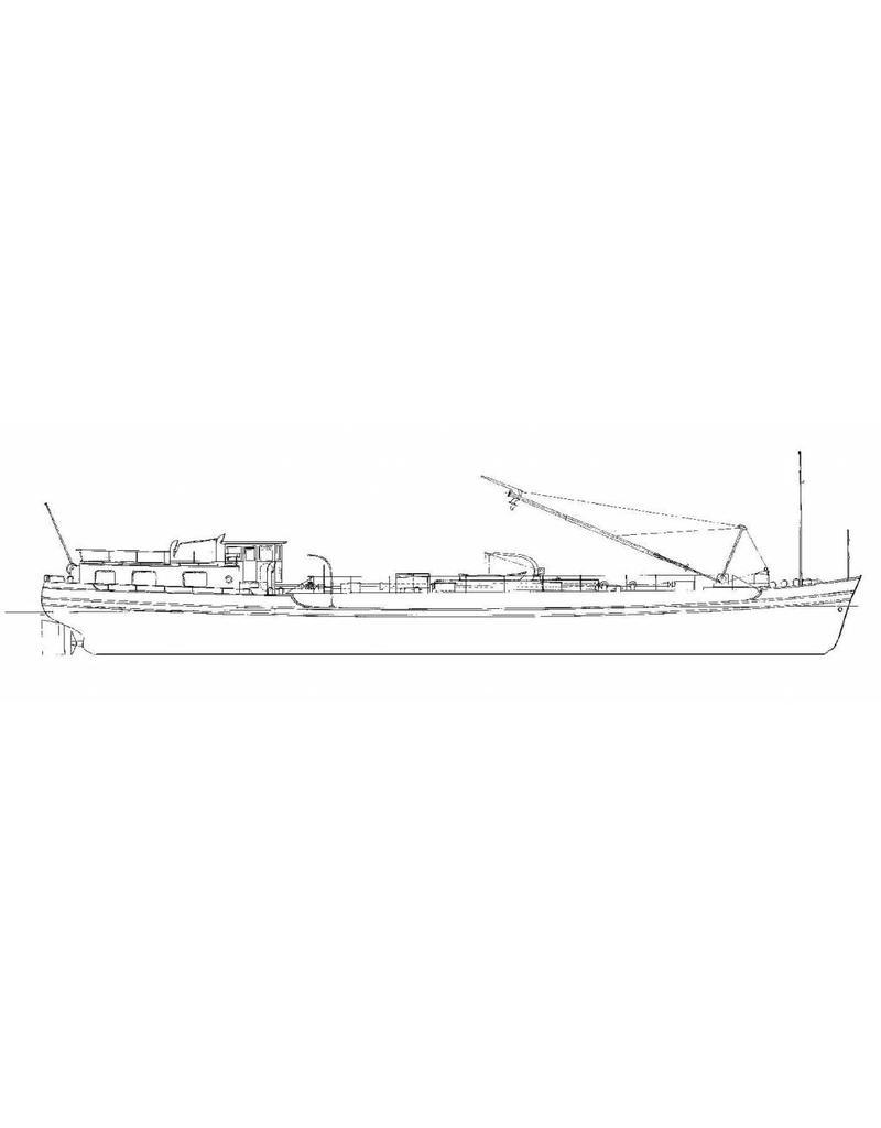 NVM 16.15.037 motortankschip 350 ton (1960) met afzondelijk ingebouwde ladingtanks - VTR