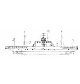 NVM 16.15.041 pontveer ms Veerdienst XII (1963)-Dordrecht