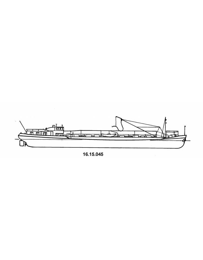 NVM 16.15.045 tankschip ms Volendam, Veendam 430 ton (1958) - VT