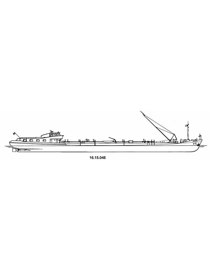NVM 16.15.048 tankschip ms Volkel (1963) - VT