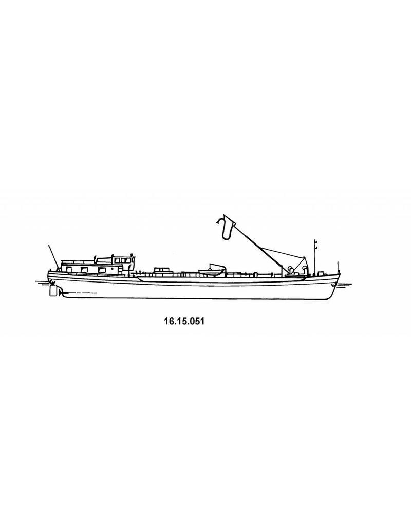 NVM 16.15.051 tankschip ms Venhorst 350 ton (1961) - VT
