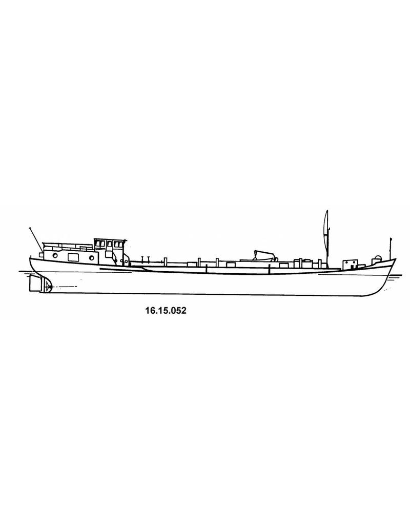 NVM 16.15.052 tankschip ms Juliana 200 ton (1954)