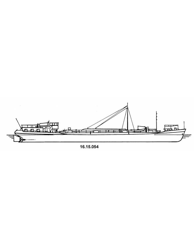 NVM 16.15.054 tankschip ms Vriezenveen 500 ton (1951) - VT