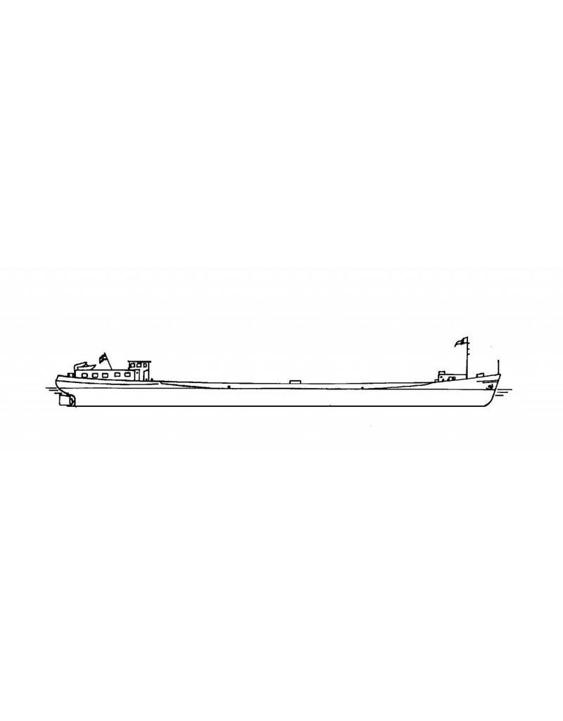 NVM 16.15.055 Motorbeunschip ms Zagri 10 (1965) - J.Boele, Rotterdam; 1992 Henjor-v.d. Gaag, Maass.