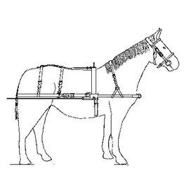 NVM 40.41.040 paardentuig voor zware tractie