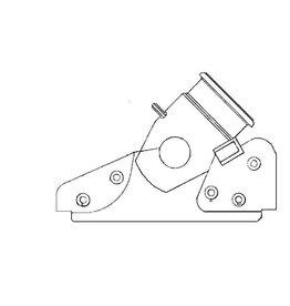 NVM 40.45.020 ijzeren stoel voor steenmortieren van 50 pond steen