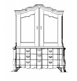 NVM 45.16.004 orgel kabinet