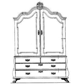 NVM 45.16.010 kabinet (Louis XV)